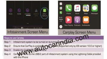 Mahindra Marazzo M8 trim gains Apple CarPlay smartphone support