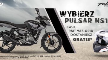 Bajaj offers free helmet with the Pulsar NS125 in Poland