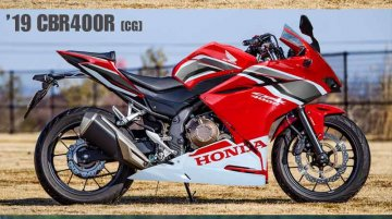 Honda CBR400R may get CBR250RR inspired fascia - Report