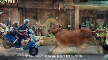 CEAT tyres's new 'Kamla' ad uses a CGI Cow scanned from a real one [Video]