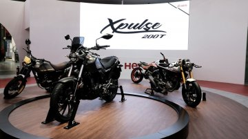 EICMA 2018: Hero XPulse 200T based Scrambler, Desert, Flat Track and Cafe Racer concepts unveiled
