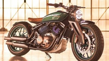 Royal Enfield product strategy & design chief talks about Kx V-twin bobber - IAB Report
