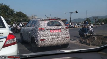 Top-spec Mahindra S201 with rear disc & machined alloy wheels spotted [Update]