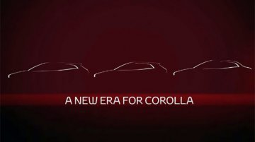 Next-gen Toyota Corolla Altis teased, to debut on 16 November