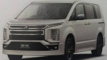 2019 Mitsubishi Delica D:5 exterior and interior leaked [Update]