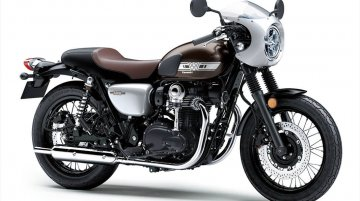 New-gen Kawasaki W800 Cafe revealed
