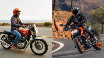 Royal Enfield Interceptor INT 650 vs. KTM 390 Duke drag race [Video]