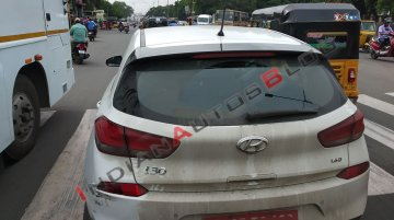 Hyundai i30 continues testing components in India, Local launch ruled out