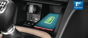 Hyundai Xcent gains wireless phone charger in India