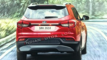 Mahindra S201's rear to have no cues of the SsangYong Tivoli - Rendering