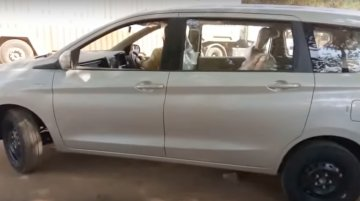 Low-spec 2018 Maruti Ertiga variant spotted in Bhubaneswar [Video] - Update