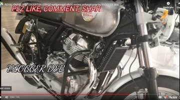 Royal Enfield Interceptor INT 650 walkaround & exhaust note from the dealership [Video]