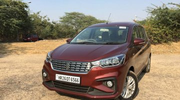 Maruti Ertiga 1.5L diesel launched, priced from INR 9.86 lakh