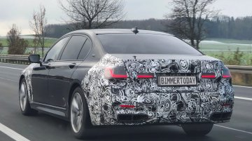 New BMW 7 Series (facelift) spotted on test near Munich