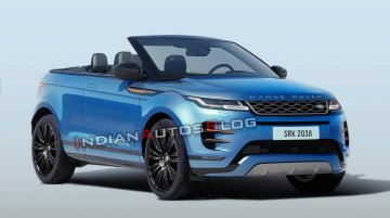 All-new Range Rover Evoque Convertible - IAB Rendering