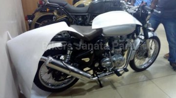 Royal Enfield Classic 500 Scrambler spied testing in India - Report