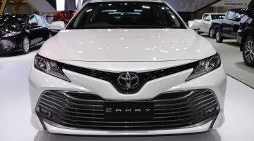 India-bound 2018 Toyota Camry at Thai Motor Expo - Live