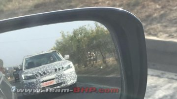 Mahindra S201 with production body & DRL spied; Name announcement on Dec 1