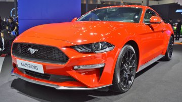 2018 Ford Mustang (facelift) at the Thai Motor Expo - Live