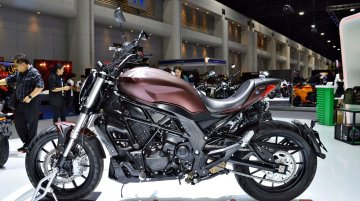 New Benelli 502S Cruiser at the Thai Motor Expo - Live