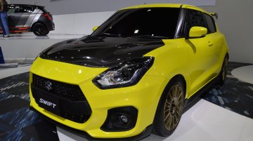 Custom Suzuki Swift Sport showcased at 2018 Thai Motor Expo - Live