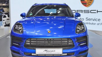 India-bound 2019 Porsche Macan at the Thai Motor Expo - Live