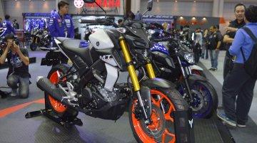Yamaha MT-15 at the Thai Motor Expo 2018 - Live