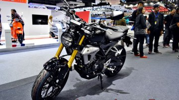 Honda CB150R ExMotion displayed at Thai Motor Expo - Live