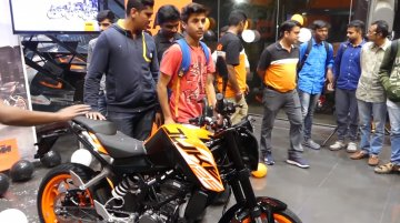 KTM 125 Duke deliveries commence in India [Video]