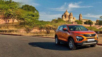 Tata Harrier - First walkaround video from media drive
