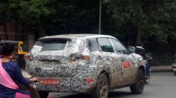 IAB reader spots a heavily camouflaged Tata Harrier test mule in Pune