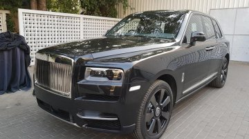 Rolls-Royce Cullinan launched in India, Priced at INR 6.95 crore