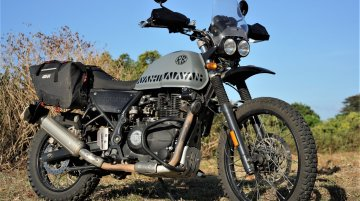 This lightweight Royal Enfield Himalayan scrambler from Philippines is home-made