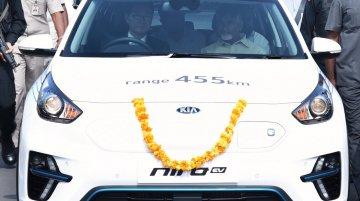 Kia Motors gifts Niro HEV, Niro PHEV & Niro EV to AP government