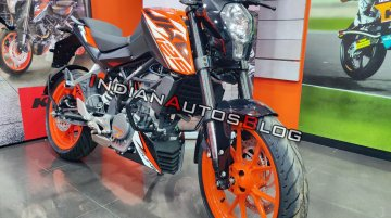 KTM 125 Duke gets its first price hike