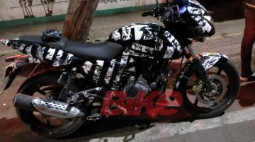 2019 Bajaj Pulsar 150 ABS spied testing in India for the first time