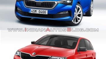 Skoda Scala vs. Skoda Rapid Spaceback - Old vs. New