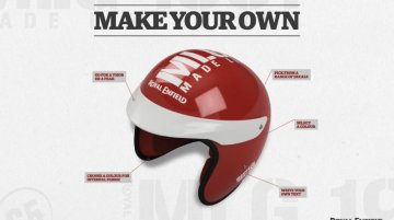 Royal Enfield offers online gear customisation for its customers