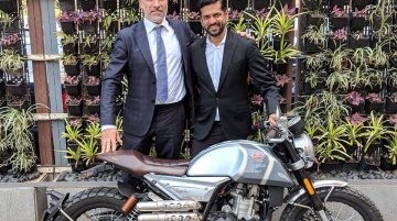 FB Mondial HPS 300 Indian assembly line inaugurated, deliveries begin