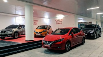 Nissan Leaf, Nissan Note e-Power & Nissan Patrol showcased in India