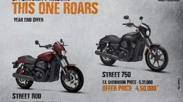 Harley-Davidson Street range available at massive discounts
