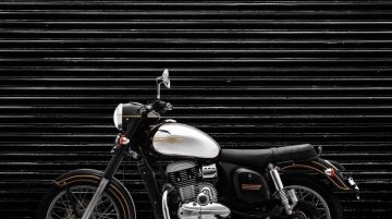 Classic Legends shares the Jawa Black & Jawa Grey colour variants