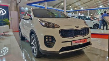 Kia Sportage showcased at the Autocar Performance Show 2018