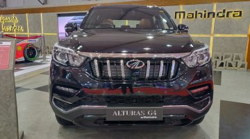 Mahindra Alturas G4 at the Autocar Performance Show 2018