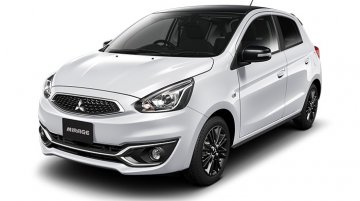 Mitsubishi Mirage Black Edition launched in Japan