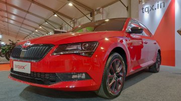 Skoda Superb Sportline showcased at the APS 2018
