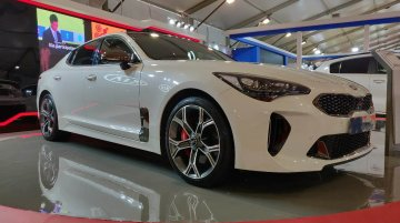 Kia Stinger GT showcased at the Autocar Performance Show 2018