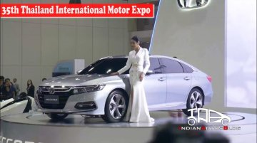 2019 Honda Accord | 35th Thailand International Motor Expo | Indian Autos Blog