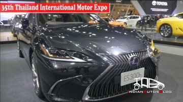 2019 Lexus ES300h | 35th Thailand International Motor Expo | Indian Autos Blog