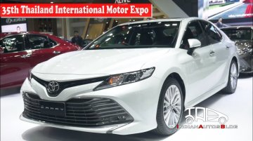 2019 Toyota Camry | 35th Thailand International Motor Expo | Indian Autos Blog